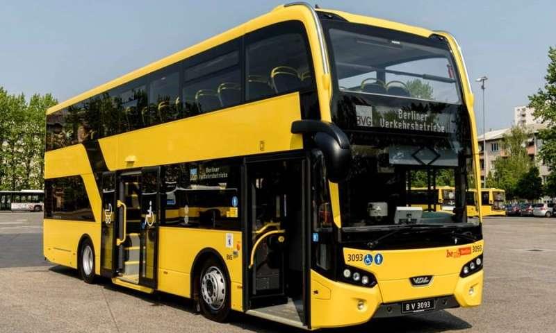 VDL Bus & Coach доставя на BVG първите двуетажни автобуси с нисък под от гамата модели Citea