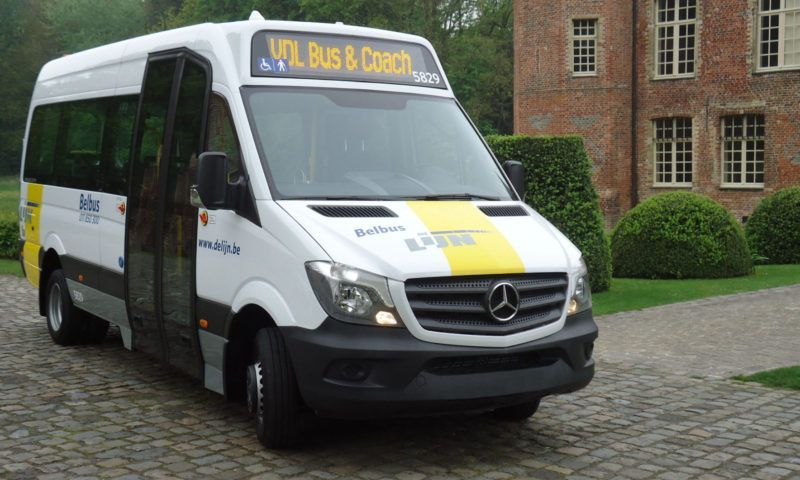 Доставени са 41 автобуса от модела VDL MidCity за De Lijn