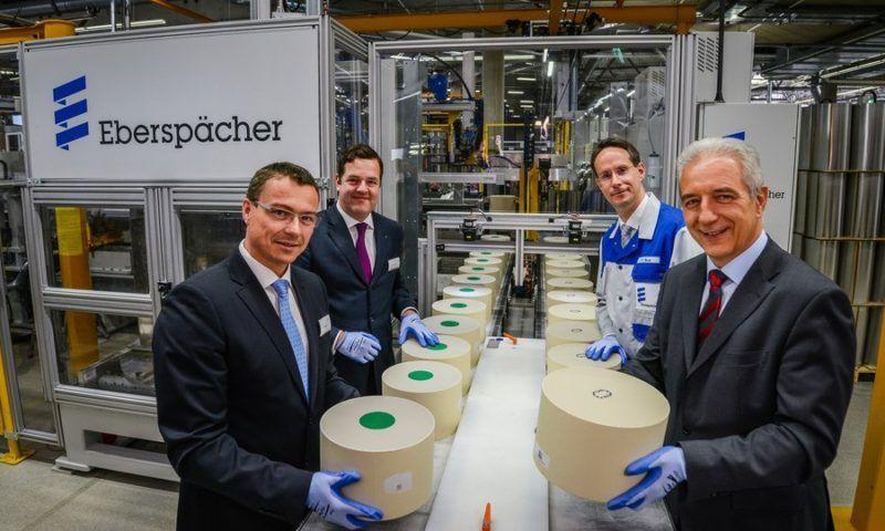 Официален старт на производството: Тържествено отбелязване в новата фабрика на Eberspaecher близо до Дрезден
