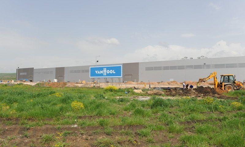 Официално откриване на нов завод на Van Hool в Македония