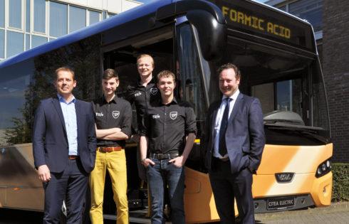 VDL Bus & Coach и Team FAST ще създават първия градски автобус в света, който се движи с мравчена киселина