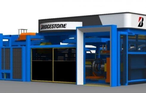 Bridgestone с нова революционна система за асемблиране на гуми