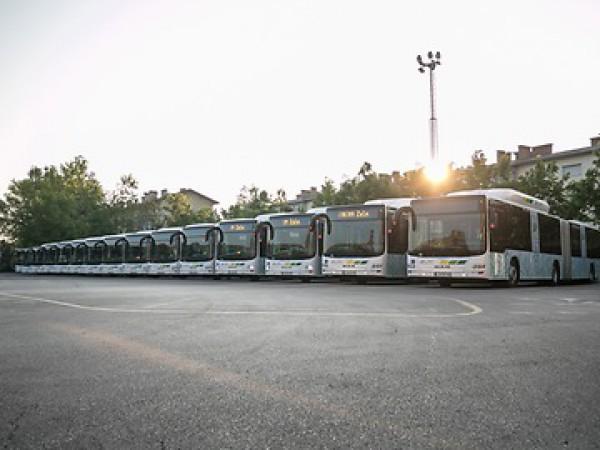 Любляна с 30 нови автобуса Lion's City CNG на MAN