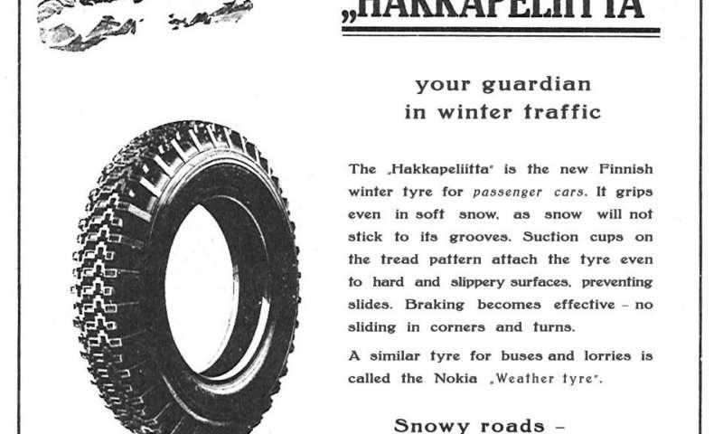 80 години от създаването на първата в света зимна гума за леки автомобили