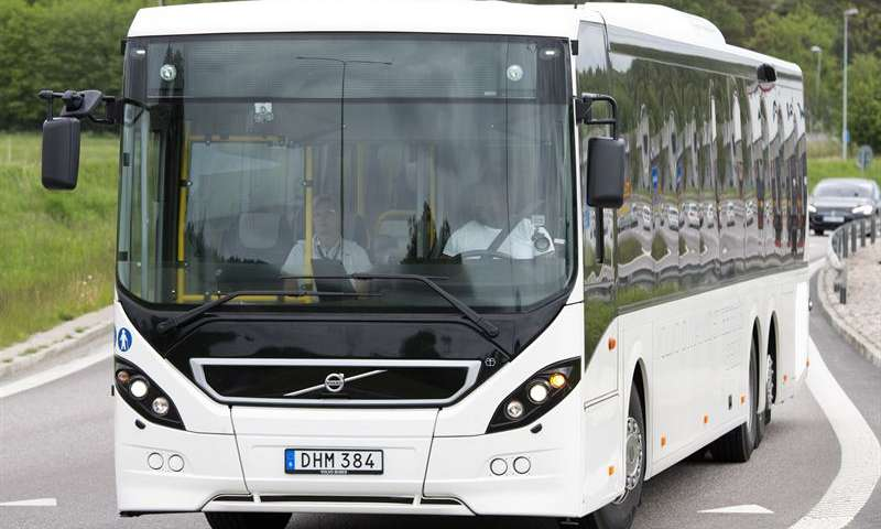 Volvo Dynamic Steering reduces the risk for bus drivers