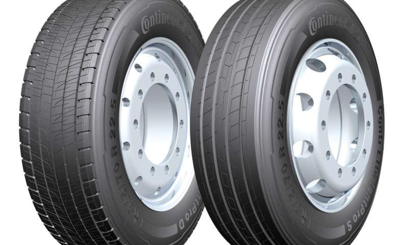 Continental намалява потреблението на гориво при тежките машини с 6 литра за всеки 100 км