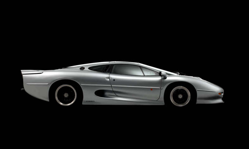 Bridgestone ще разработва нови гуми за XJ220