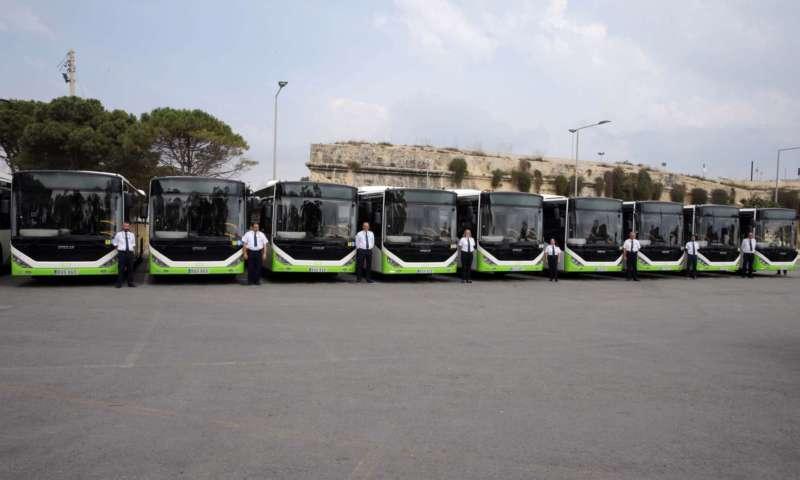 Малта получава 33 нови 12-метрови автобуса Kent