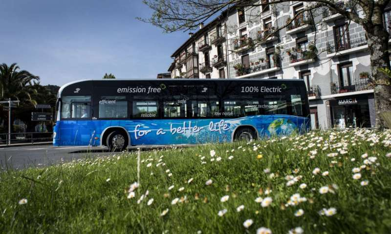 Irizar receives the National Business Award for the Environment