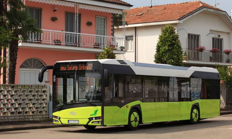 Bus of the Year 2017 - the new Solaris Urbino 12 electric