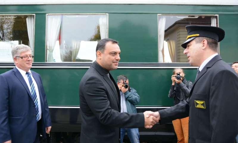 Тържества  по повод 150 години от първата жп линия в България