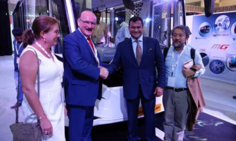 MG Group celebrates 100 000 buses produced in 20 years