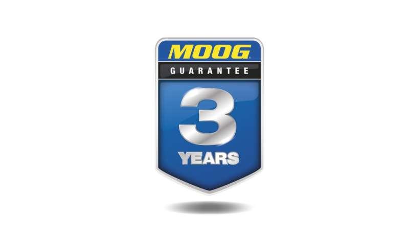 3-годишна гаранция  за частите по окачването и кормилното управление MOOG® за леки автомобили