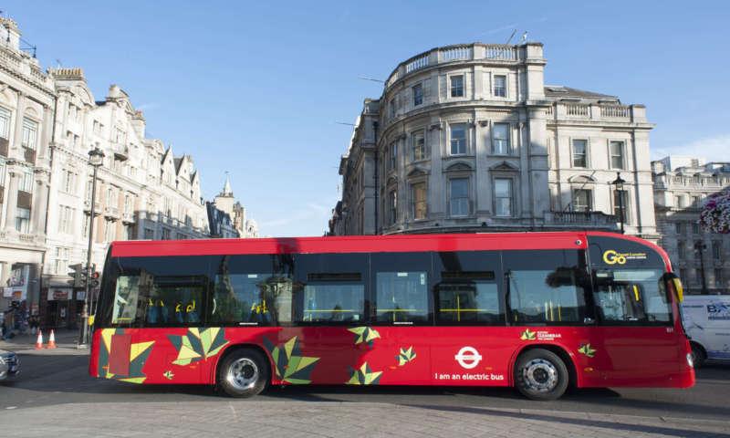 Два 100% електрически автобуса Irizar i2e постигат успешни резултати в Лондон