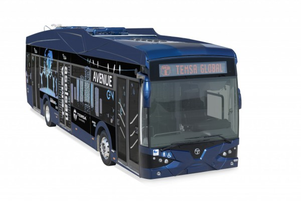 Temsa Avenue Electric bus