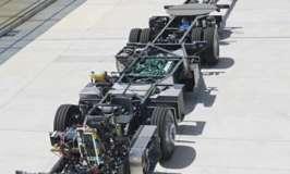 Най-голямото автобусно шаси в света