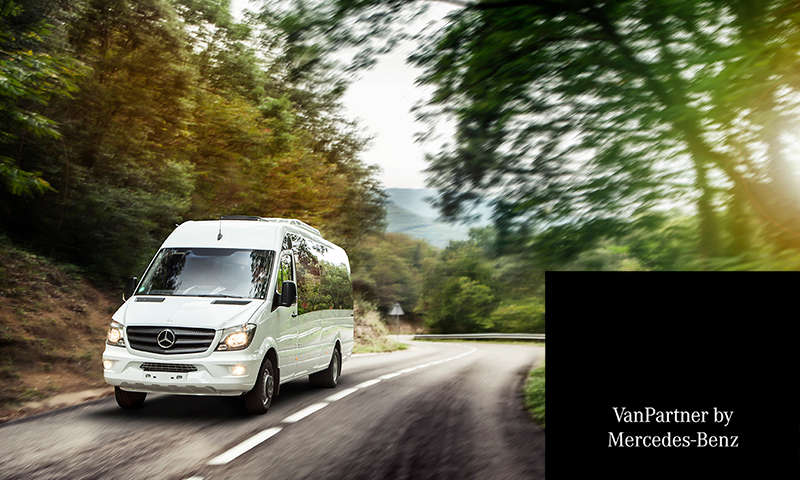INDCAR Certified Van partner by Mercedes-Benz