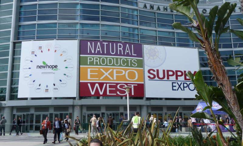 Изложението Natural Products Expo West в Калифорния през март 2017