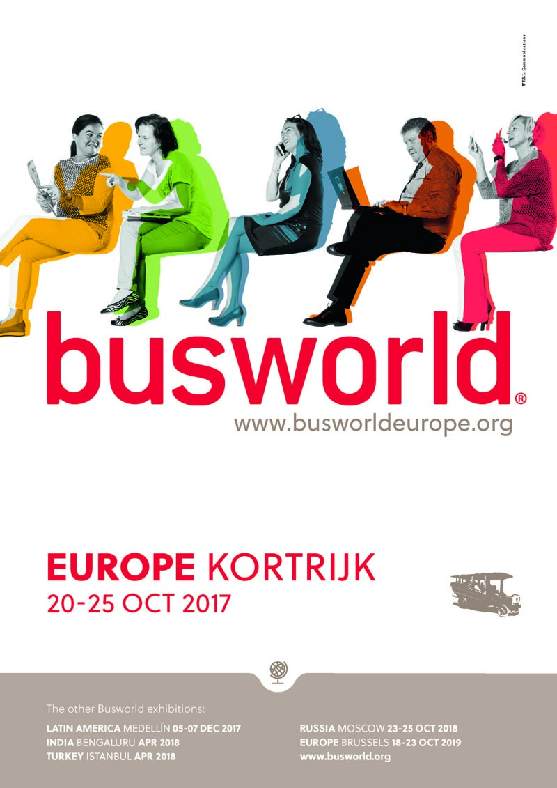 BUSWORLD - EUROPE KORTRIJK 20-25 OCT 2017