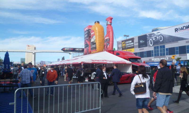 Изложение в автомобилната индустрия и след продажбено обслужване в Лас Вегас