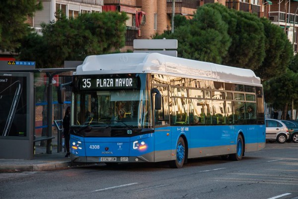 Scania Delivers 160 Gas Buses to Madrid