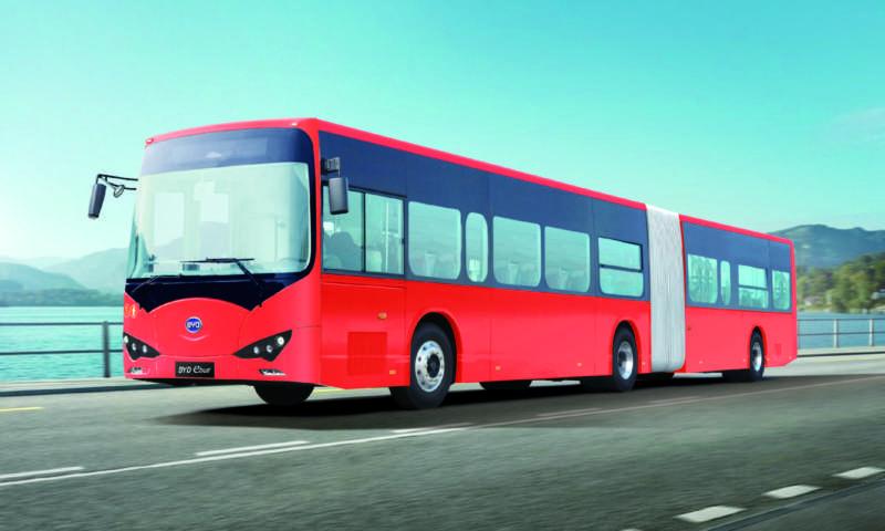 Какво да очакваме от електрическия автобус на BYD?