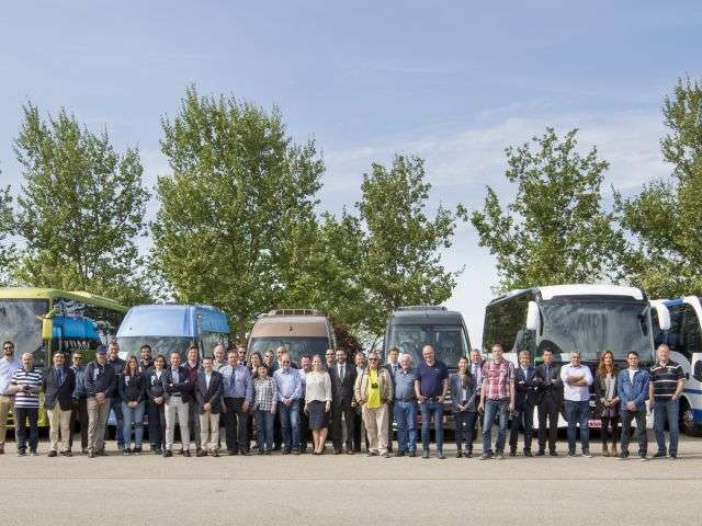 IFEMA hosted the tests to find the Minibus of the Year