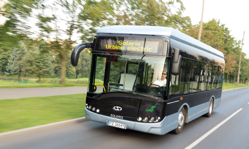 The first electric buses from Solaris in France
