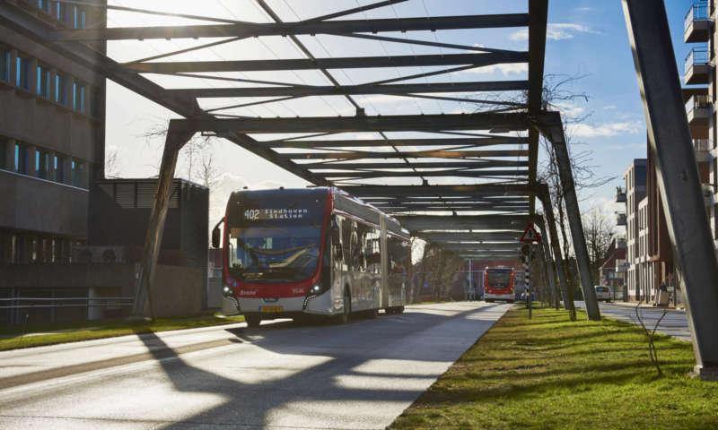 1 000 000 електрически километра в Айндховен с VDL автобуси
