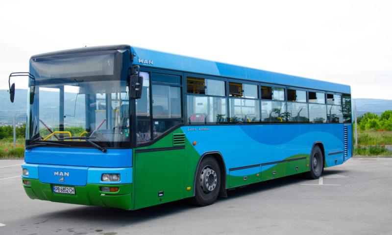Автобуси за продажба – 6 броя автобуси МАН СЛ 283 (Лион)