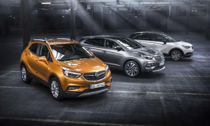Гамата от Х-модели на Opel предлага определени X(екс)-три