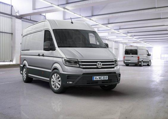 Volkswagen Crafter избран за Международен ван на годината