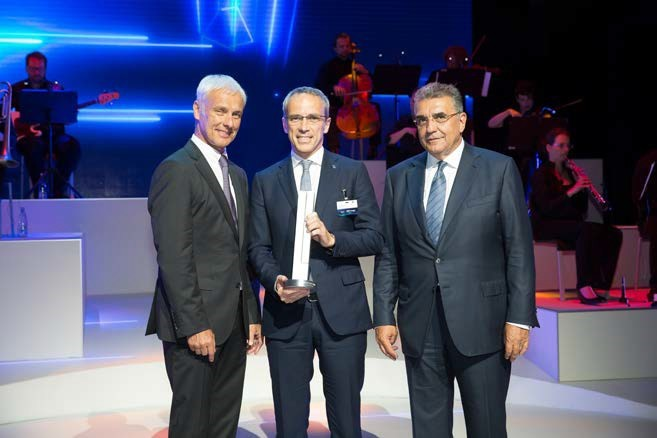 Bridgestone получава награда за иновации и технологии от Volkswagen Group