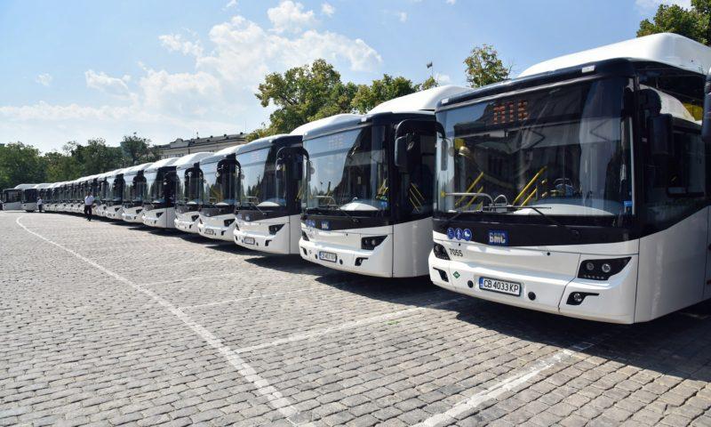 Нови 60 автобуса се пускат в градския транспорт на София