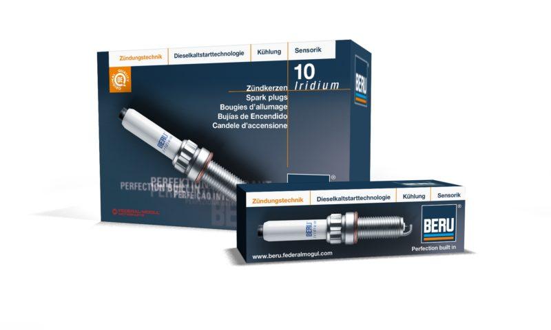 Federal-Mogul Motorparts представя новата гама запалителни свещи с иридий на BERU®