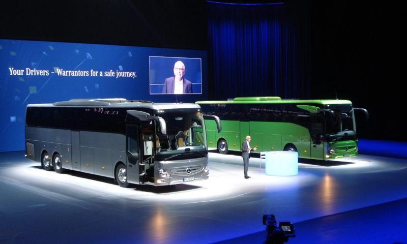 Световна премиера на МЕРЦЕДЕС отново завладя умовете на всички автобусни фирми по света