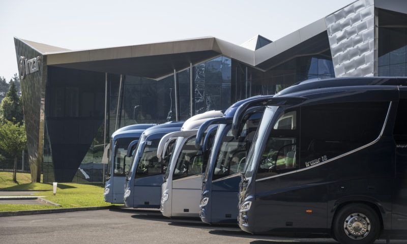 A new generation of sustainable coaches and buses with Irizar technology and branding
