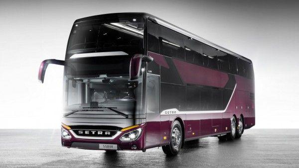 Луксозният двуетажен автобус на Setra