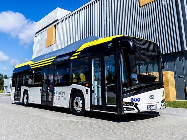 Нови електрически автобуса Solaris за Италия