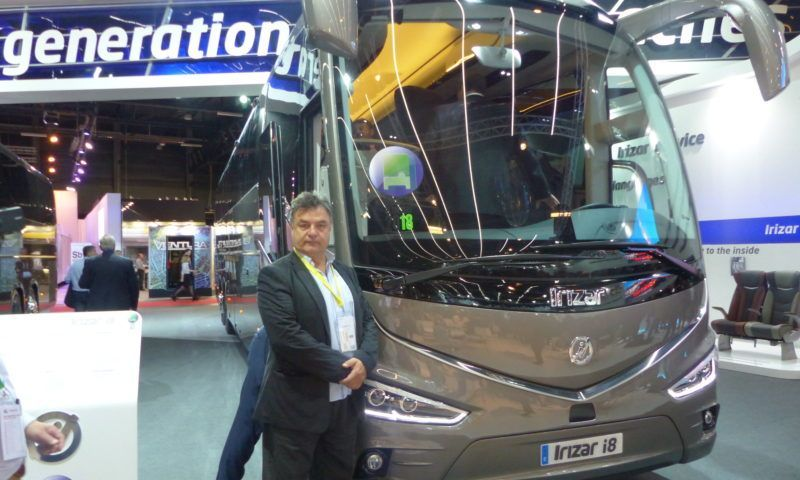 Ново поколение устойчиви туристически и градски автобуси с технология и брандинг на Irizar на Busworld Europe 2017