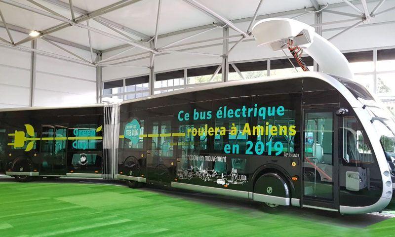Амиенс Метропол избра Irizar ie tram