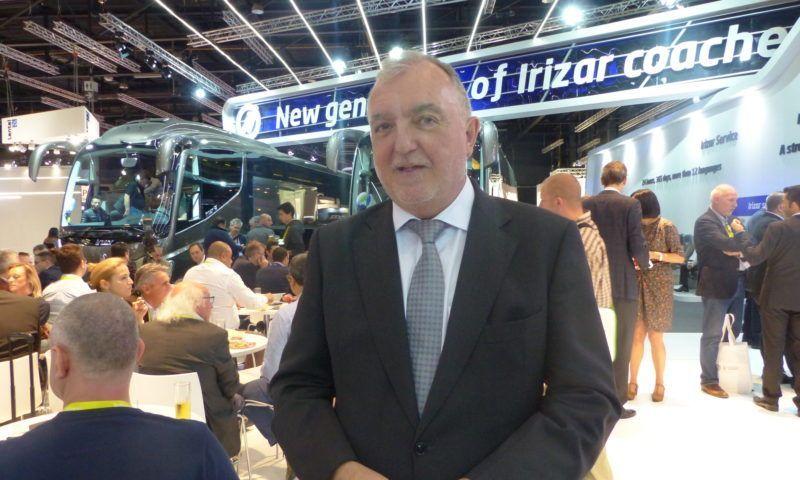 Irizar i8 e Туристически автобус на годината за 2018 година