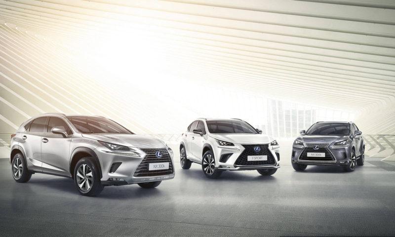 Lexus отбелязва ръст в европейските продажби за 4-та поредна година