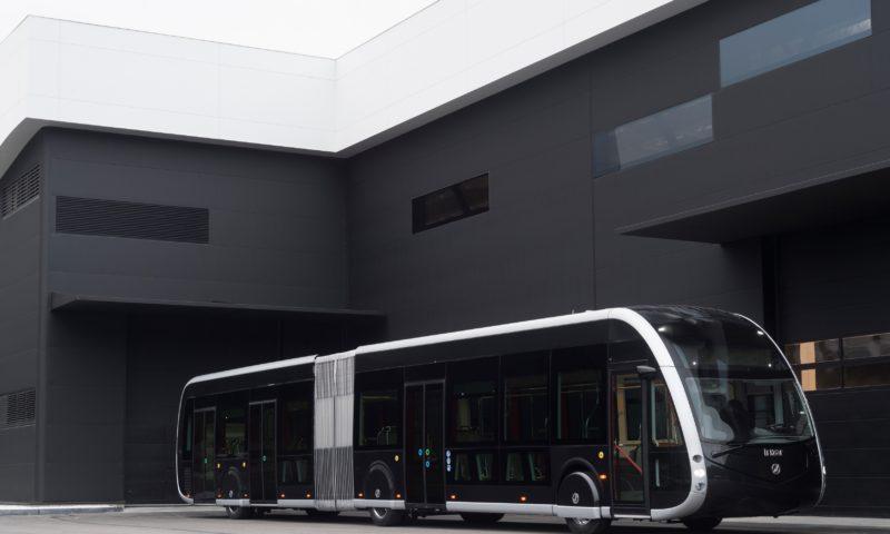IE трамът на Irizar е признат зaЕкологично индустриално превозно средство на годината