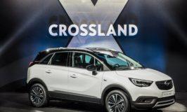 "Opel Crossland X е победител в Euro NCAP ""Best in Class 2017"""