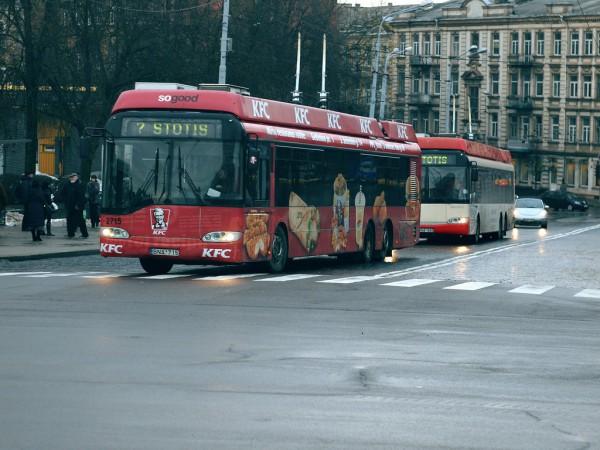 Тройлебуси Solaris за литовската столица