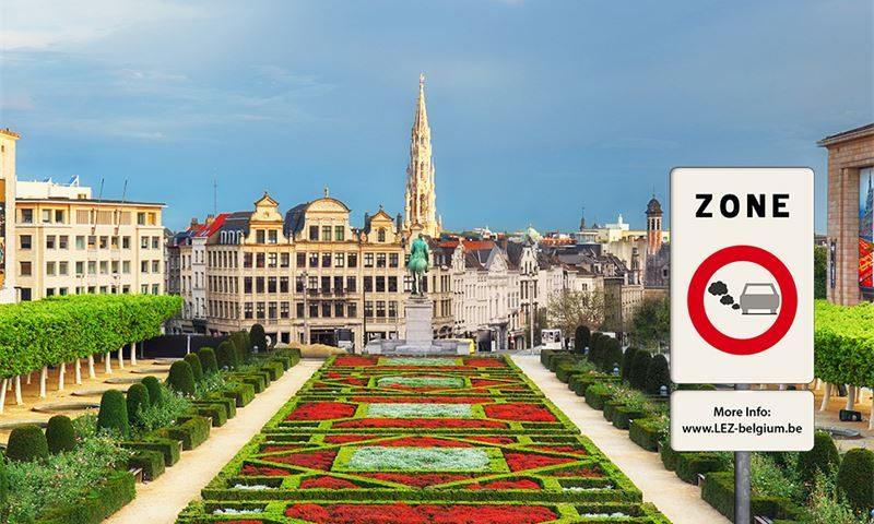 Нова зона за ниски емисии в Брюксел от 01.01.2018 г.