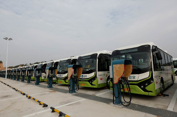 Electric buses will take over half of the world fleet by 2025