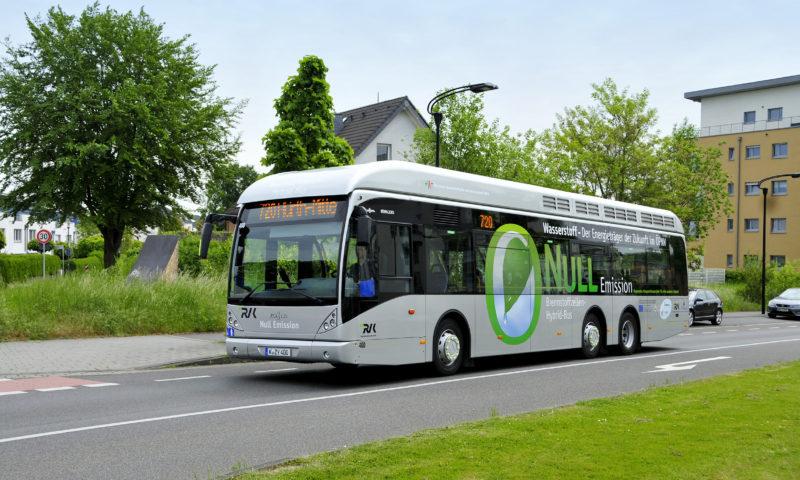 Van Hool произвежда 40 водородни автобуса за Кьолн и Вупертал (Германия)