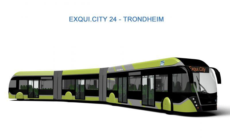 Van Hool to build 58 trambuses for Trondheim (Norway)